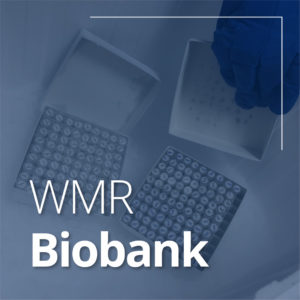 What we do - Frozen tissue samples from our Biobank.